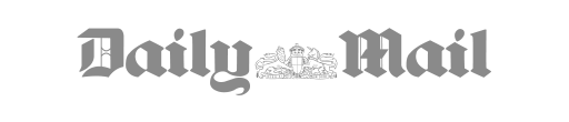 Daily Mail logo in grey and white.