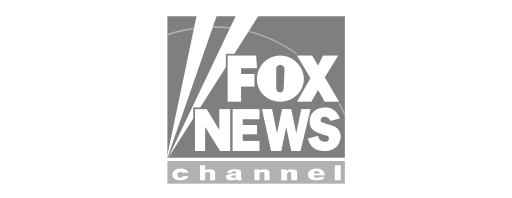 Fox News Channel logo in grey and white.