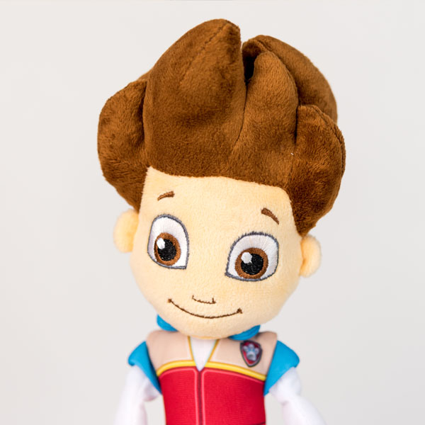 Plush Ryder from Paw Patrol doll.