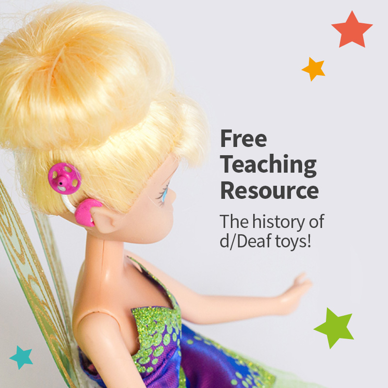 The history of D/deaf toys teaching resource